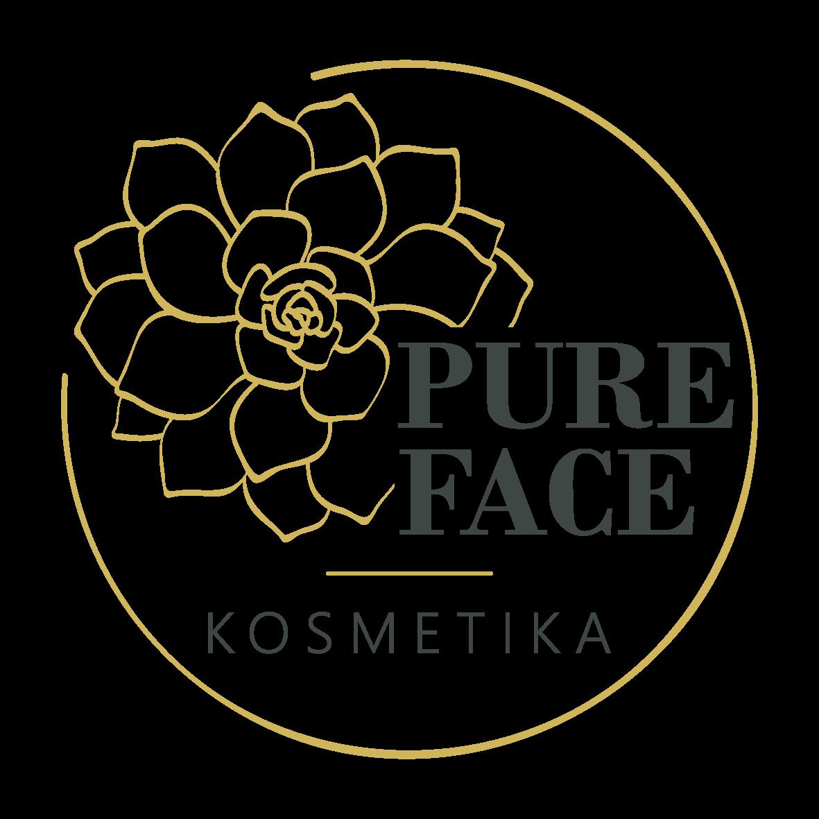 Pure Face Přírodní kosmetické studio Říčany Logo